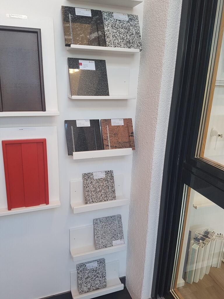 Außenfensterbank Auswahl
