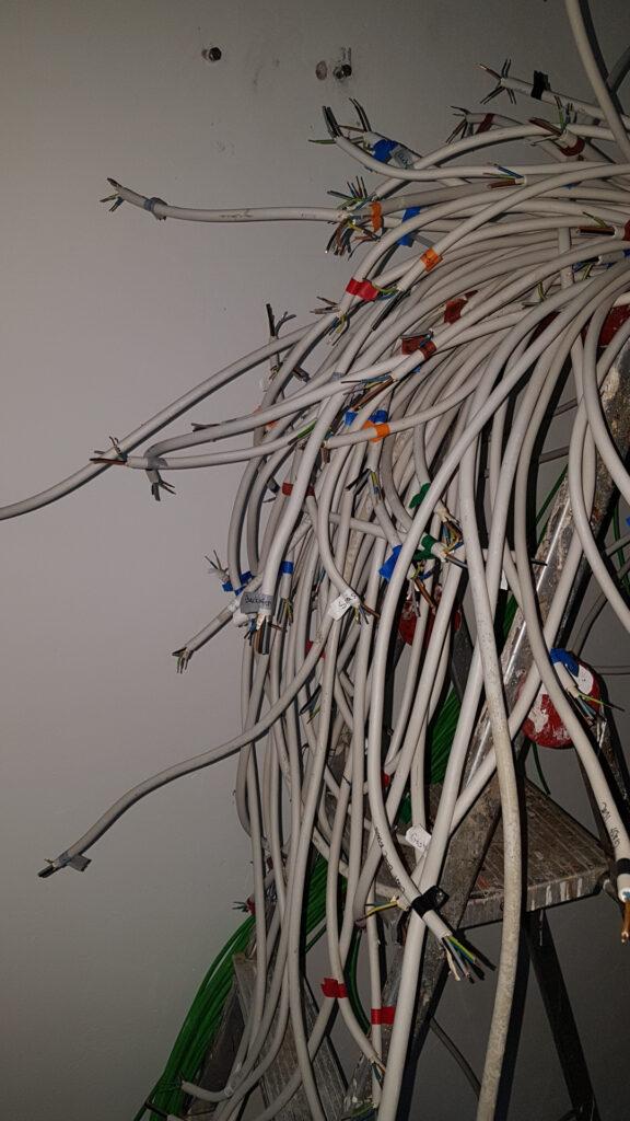 Beschriftete und kategorisierte Leitungen